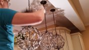 Chandelier Cleaning by Must Be Clean